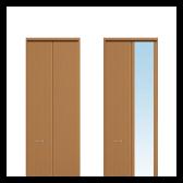 収納折戸 フラットタイプ