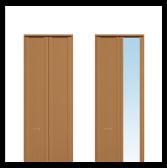 収納折戸 框タイプ