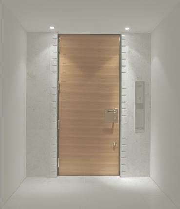 ホテル・集合住宅向け木製防火ドア