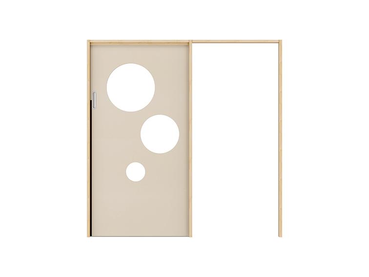 フラッシュタイプ/シナ合板